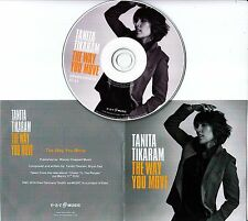 TANITA TIKARAM The Way You Move 2016 UK 1-track promo test CD