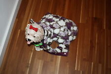 Exclusiver Pelzmantel(fake) warmer Hundemantel Mantel & Kleidersack Lizzura S