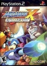 PS2 MEGAMAN X COLLECTION 7 MEGA MAN GAMES X2 X3 X6 NEW
