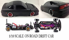 1/10  NISSAN 180 SX RTR Custom RC Drift -Cars 4WD 2.4Ghz & Chargers