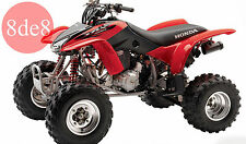 Honda TRX 400 EX Fourtrax (2002) - Manual de taller en CD (En inglés)
