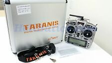 NEW FrSky 2.4GHz Taranis X9D PLUS Telemetry in NEW Aluminum case, BLUE screen