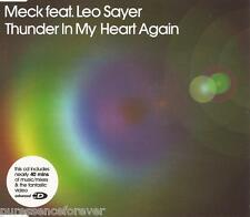 MECK ft LEO SAYER - Thunder In My Heart Again (UK 7 Tk Enh CD Single Pt 2)
