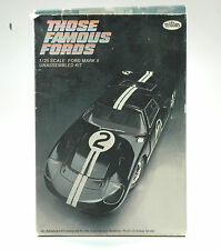 Testors - Ford Mark II  - Ford GT40 Mk.II - Those Famous Fords - no.112 - 1:25
