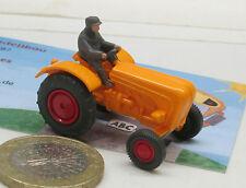 Wiking  386/5c:  Porsche Schlepper,  orange