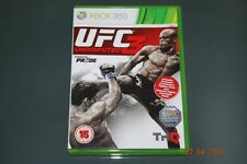 UFC Undisputed 3 Xbox 360 UK PAL