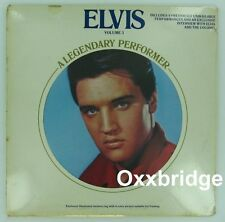 SEALED ELVIS PRESLEY A Legendary Performer 3 LIVE RCA Interview LP w/ 4 Pictures