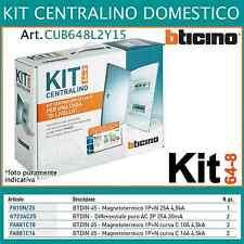 KIT centralino 24 moduli salvavita magnetotermico 75MQ BTICINO CUB648L2Y15