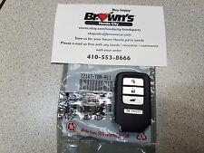 NEW GENUINE HONDA CR-V CRV 2015 2016 EX EX-L SMART KEY FOB REMOTE 72147-T0A-A11
