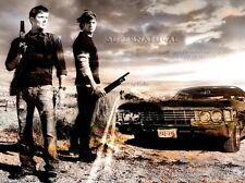 "Supernatural - US TV Show Season Art Silk Cloth Poster 32 x 24"" Decor 130"
