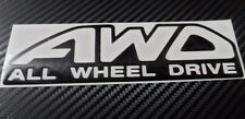 Car 4WD ALL WHEEL DRIVE for SUV Truck Decal Vinyl sticker Tailgate Decal  #CF182