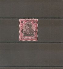 TIMBRE ALLEMAGNE DEUTSCHE KOLONIE GERMAN LEVANT N°47 OBLITERE USED