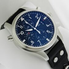 IWC Pilot's Double Chronograph 46mm Stainless Steel IW377801 NEW Ret: $11,700