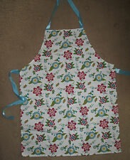 floral apron by Vigar from John Lewis New pink ,red & green multi ,country style