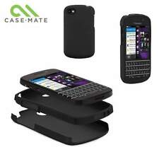 Original Casemate Blackberry Q10 Resistente Funda Hard Shell Cover cm027465-Negro