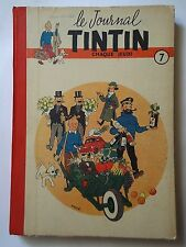 RELIURE FRANCAISE TINTIN n° 7  ( 103 à n° 119 ) couverture HERGE   ( ARSCAN )