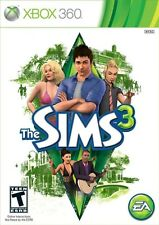 The Sims 3 (XBOX 360 Region Free, Video Game, EA Fun Play with Life) Brand NEW