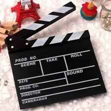Prop Director Video Clapperboard TV Movie Film Cut/Action Clapper Board Slate