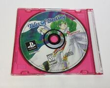 Tales of Destiny (Sony Playstation PS1, 1998) RARE RPG **Disc Only**