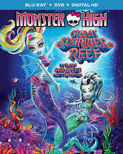 Monster High: Great Scarrier Reef (Blu-ray/DVD + Digital Copy) New