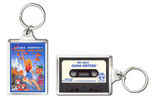 THE GREAT GIANA SISTERS COMMODORE SPECTRUM KEYRING LLAVERO