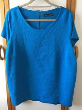Marks & Spencer blue/turquoise top size 24