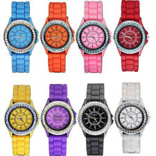 Wholesale 8 Assorted Silicone Jelly Women's Watch Hoc