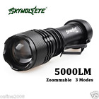 Super Bright 5000LM CREE Q5 AA/14500 3 Modes Zoomable LED Flashlight Torch Lamp