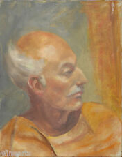 Portrait of Artist Peter BLOS by Henry Gifford HARDY - Oil on Canvas - Original