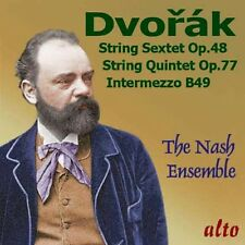 CD DVORAK STRING SEXTET op.48 STRING QUINTET op.77 Intermazzo in B NASH ENSEMBLE