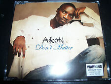 Akon Don't Matter Australian Enhanced CD Single - New