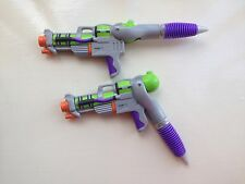 1x Novelty 2 In 1 Kids Pen Super Soaker Mini Water Pistol Gun Pen Great Gift