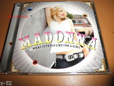 MADONNA rare 9 track SINGLE cd What It Feels Like for a Girl OAKENFOLD VISSION