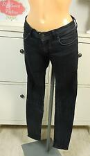 CLOSED Jeans Röhre Slim Skinny Stretch Schwarz Gr. W28 L34 (A31)