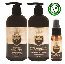 ** BY MY BEARD OIL, SHAMPOO, CONDITIONER & FACE MOISTURISER MENS FACIAL HAIR NEW