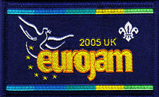 Boy Scout Badge 2005 EUROJAM UK Jamboree Rejected issue