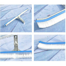 "18""Blue Above Ground & Inground Nylon Swimming Pool Aluminum Frame Wall Brush"