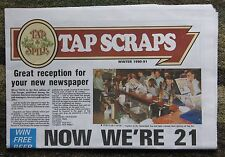 Tap and Spile Pub Chain - 'Tap Scraps' - Winter 1990 - free pp(UK)