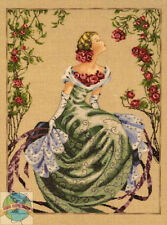 Cross Stitch Chart / Pattern ~ Mirabilia Elegant Lady of the Mist #MD93
