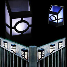 Wall Mounted Solar Powered LED Outdoor Garden Landscape Yard Light Lamp Lanterns
