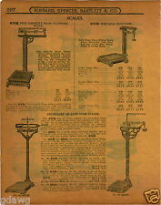 1915 PAPER AD OVB Our Very Best Doctors' Physicians' Scale Union Imperial Grocer