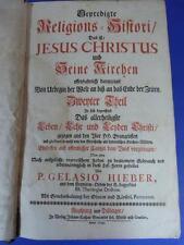 Buch Gelasio Hieber Religions Histori Gebetbuch Predigt Andacht Geschichte