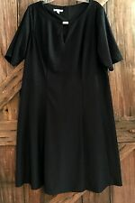 Women's Plus Size 20W  Dress London Times  Little Black Dress LBD Career Church
