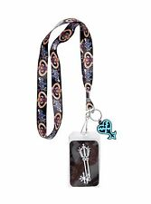 Disney Sora Key Lanyard Clear ID Pocket Badgeholder Kingdom Hearts