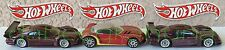 Hot Wheels - Mercedes CLK-LM - Golden Arrow - Mercedes CLK-LM - 3 Die-Cast Cars