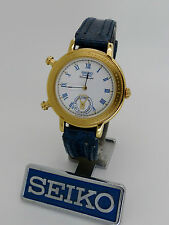 SEIKO Alarm Chronograph 8M25-6149 V/Rare 'Magic Hands' New Old Stock Midsize