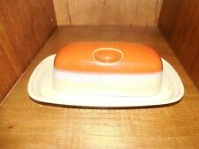 Beautiful Mikasa Ben Seibel Potter's Art Country Cabin Covered Butter Dish