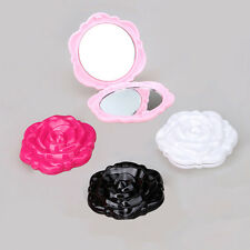 Two Side Small Make-up Mirror Hand Pocket Portable Women's Mini Cosmetic Mirror