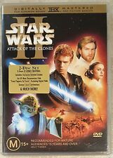 Star Wars Episode II - Attack Of The Clones (2 Discs) DVD EXCELLENT cond (R4)