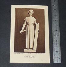 CHROMO 1937 IMAGE PIEUSE CATHOLICISME HOLY CARD ORDINATION PRETRE JESUS OUVRIER